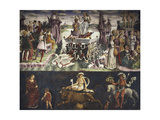 Triumph of Venus and Sign of Taurus, Scenes from Month of April, Ca 1470 Giclee Print by Francesco del Cossa