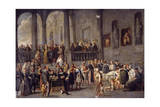 To Visit the Sick, Cycle from the Seven Works of Mercy, after 1625 Giclee Print by Cornelis De Wael