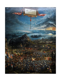 The Battle of Alexander at Issus. Oil Painting by the German Artist Albrecht Altdorfer Giclee Print by Albrecht Altdorfer