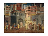 Effects of Good Government in City Giclee Print by Ambrogio Lorenzetti