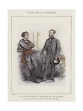 Le Citoyen Protot Giclee Print by Charles Albert d'Arnoux Bertall