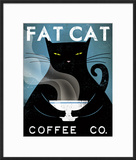 Cat Coffee Art by Ryan Fowler