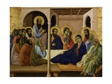 The Virgin Taking Leave of the Apostles Giclee Print by Duccio Di buoninsegna