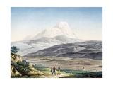 Vulcano Cayambe in Region of Quito, Ecuador Giclee Print by Alexander Von Humboldt