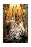 Rome, Church of Santa Maria Della Vittoria: Ecstasy of St Theresa, 1644 - 1652 Giclee Print by Gian Lorenzo Bernini