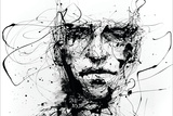 Lines Hold The Memories Wall Sign by Agnes Cecile