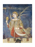 Allegory of Bad Government, Vainglory Giclee Print by Ambrogio Lorenzetti
