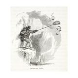 Catching Auks Giclee Print by Elisha Kane