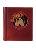 Book Cover of 'Histoire Charmante De L'Adolescente Sucre D'Amour' by Joseph Charles Mardrus, 1927 Giclee Print by Francois-Louis Schmied