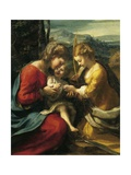 Mystic Marriage of St Catherine of Alexandria Giclee Print by Antonio Allegri Da Correggio