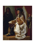 Emperor Charles VI Giving Audience to Venetian Ambassadors Giclee Print by Francesco Beda
