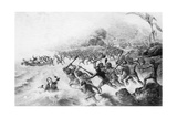 The Massacre of the Lamented Missionary, the Rev. P. Williams and Mr. Harris Giclee Print by George Baxter