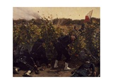 Battle of Malmaison, October 21, 1870, 1875 Giclee Print by Etienne Prosper Berne-bellecour
