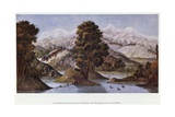 Caravan in the Mountains of British Kaffraria Giclée-Druck von Francois Le Vaillant