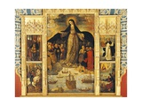 Spain, Seville, Alcazar Palace, Virgin of Seafarers' Altarpiece, 1535 Giclee Print by Alejo Fernandez