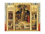 Spain, Seville, Alcazar Palace, Virgin of Seafarers' Altarpiece, 1535 Giclee Print by Alejo Fernandez