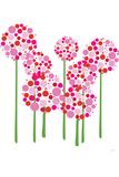 Pink Allium Znaki plastikowe