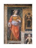 Italy, Milan, Church of Saint Maurice Al Monastero Maggiore, Santa Cecilia, 1521-1523 Giclee Print by Bernardino Luini