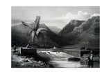 View of Saint-Denis, Reunion Island Giclee Print by Cyrille Pierre Theodore Laplace