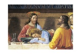 Refectory of Convent of San Marco, Jesus and St John, Detail from Last Supper, 1485 Giclee Print by Domenico Ghirlandaio