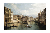 The Grand Canal Giclee Print by Bernardo Bellotto