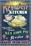 Key West, Florida - Key Lime Pie Wall Sign by  Lantern Press