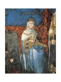 Allegory of Good Government, Prudence Giclee Print by Ambrogio Lorenzetti