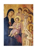 Madonna and Child Surrounded by Angels Giclee Print by Duccio Di buoninsegna