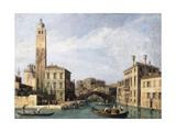 The Grand Canal with San Geremia, Palazzo Labia and the Entrance to the Cannaregio, C.1726-1730 Giclee Print by  Canaletto