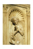 One of the Three Theological Virtues, Detail from Antipope John XXIII's Mausoleum Giclee Print by Donatello