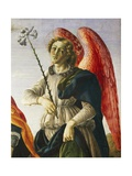 Archangel, Detail from Three Archangels and Tobias, Ca 1470 Giclee Print by Francesco Botticini