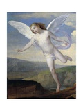 Angel, Detail from Angel Visiting Hagar and Ishmael, Circa 1846 Giclee Print by Francesco Coghetti