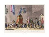 View of the Grand Procession of the Sacred Camel Through the Streets of Cairo Giclee Print by Cooper Willyams