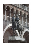 Equestrian Monument of Erasmo Da Narni, known as Gattamelata, Bronze Statue, 1446-1453 Giclee Print by Donatello