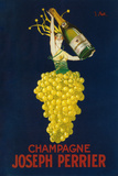 France - Joseph Perrier Champagne Promotional Poster Plastic Sign by  Lantern Press
