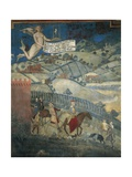 Effects of Good Government in Country Giclee Print by Ambrogio Lorenzetti