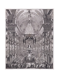 Mausoleum of the Oratoire Du Louvre Giclee Print by Charles Le Brun