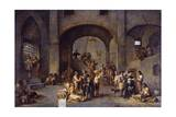 To Visit the Imprisoned, Cycle from the Seven Works of Mercy, after 1625 Giclee Print by Cornelis De Wael