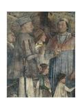 Louis II, Cardinal Francesco, Francesco II and Sigismondo Gonzaga Giclee Print by Andrea Mantegna