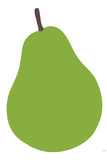 Pear Plastic Sign