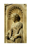Italy, Florence, San Giovanni Baptistery, One of Three Theological Virtues Giclee Print by Donatello