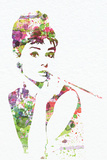 Audrey Hepburn 2 Wall Sign