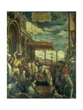 Frederick Barbarossa Rendering Public Homage to Alexander III Giclee Print by Federico Zuccari