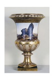 Vase with Scene from Voyage in Lower and Upper Egypt Giclee Print by Dominique Vivant Denon