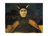 Allegory of Bad Government, Tyranny Giclee Print by Ambrogio Lorenzetti