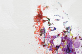 Marilyn Monroe Plastic Sign by  NaxArt