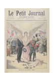 The Franco-Russian Alliance, Front Cover of 'Le Petit Journal', 12th September, 1897 Giclee Print by Oswaldo Tofani