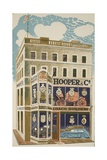 Coach Builder Giclee Print by Eric Ravilious