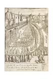 Ceremony in Venice for the Delivery of the Baton of Command to the Chief Admiral, 1610 Giclee Print by Giacomo Franco