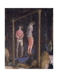 The Hanged Men, Detail from of St George and the Princess, 1433-1435 Giclee Print by Antonio Pisano
